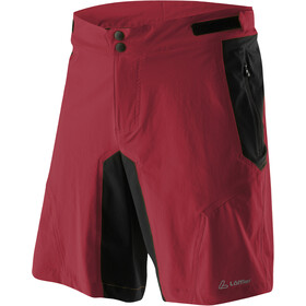 Löffler Tourano Comfort Stretch Light Shorts ciclismo Hombre, maroon